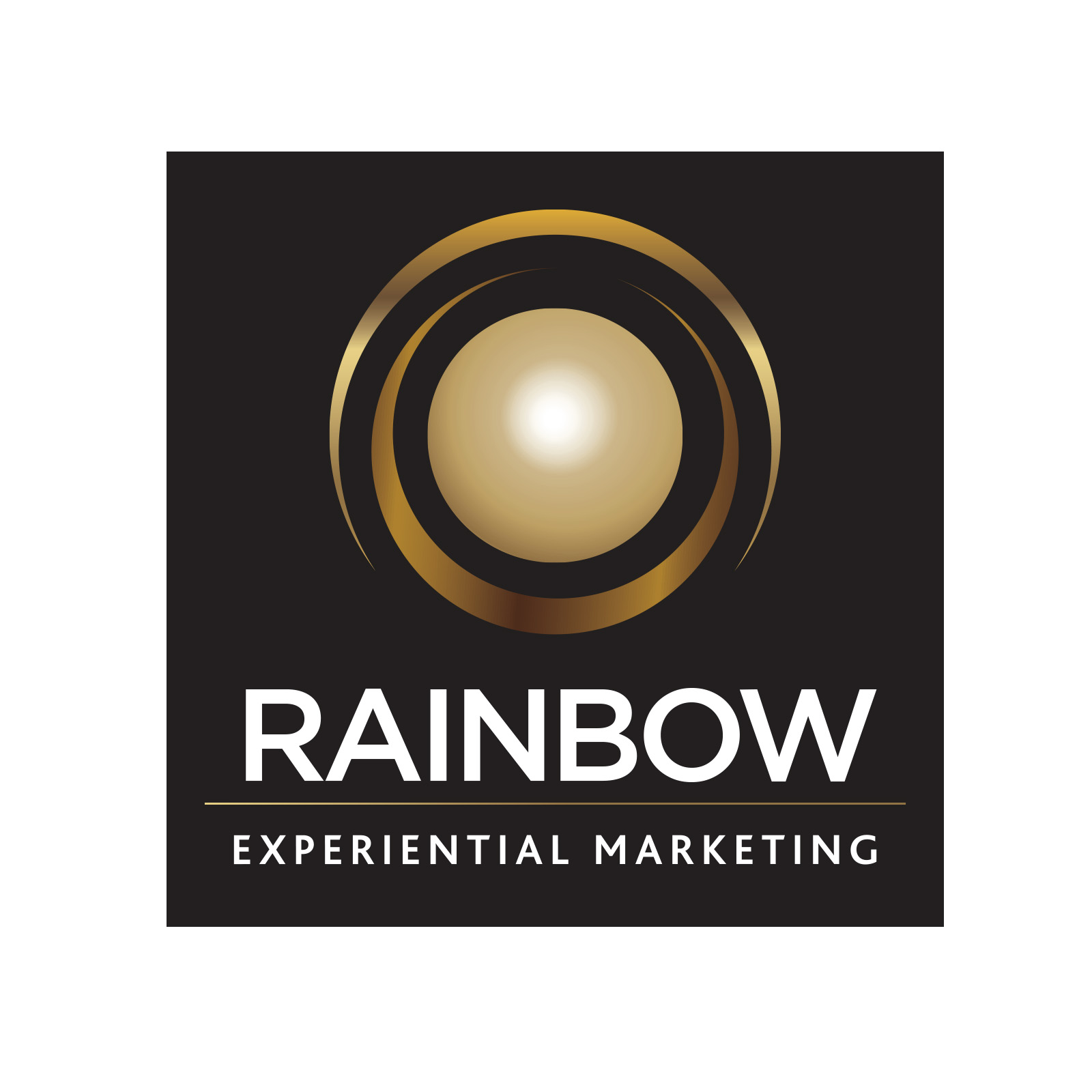 Rainbow Experiential Marketing logo for Realise A Dream competition to support local entrepreneurs in the food industry